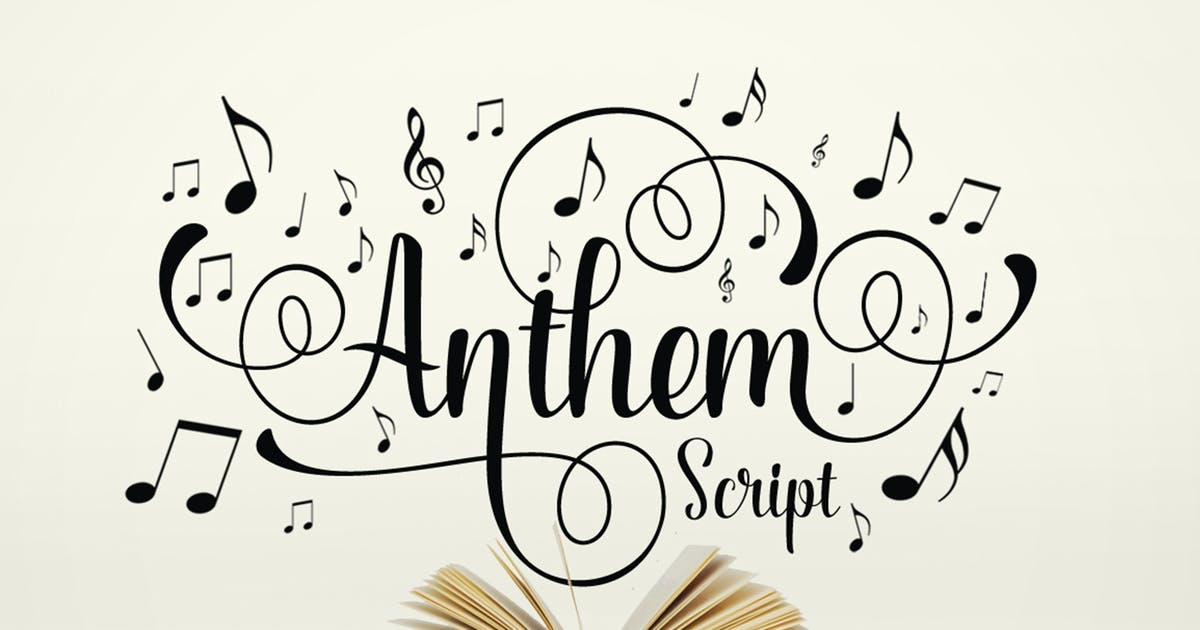 Download Anthem Script by graptailtype