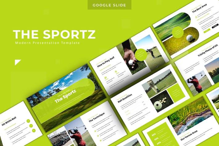 Thumbnail for The Sportz - Google Slide Template