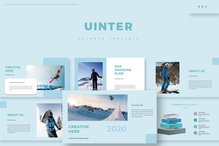 Cover Image For Uinter - Keynote Template