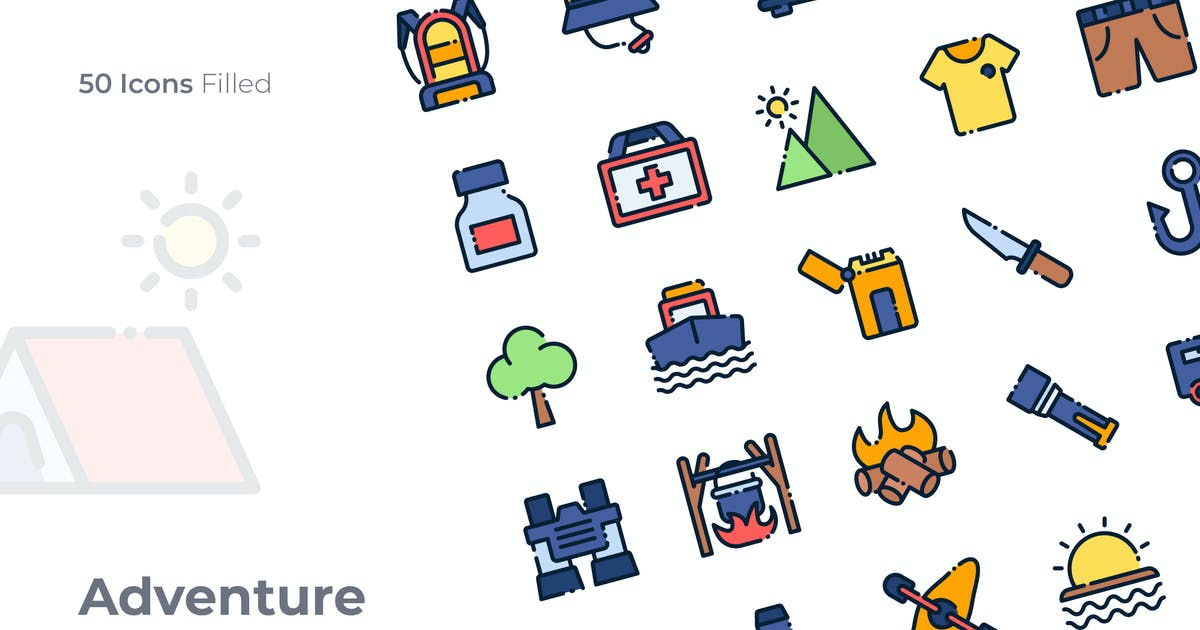 Download Adventure Filled Icon by GoodWare_Std