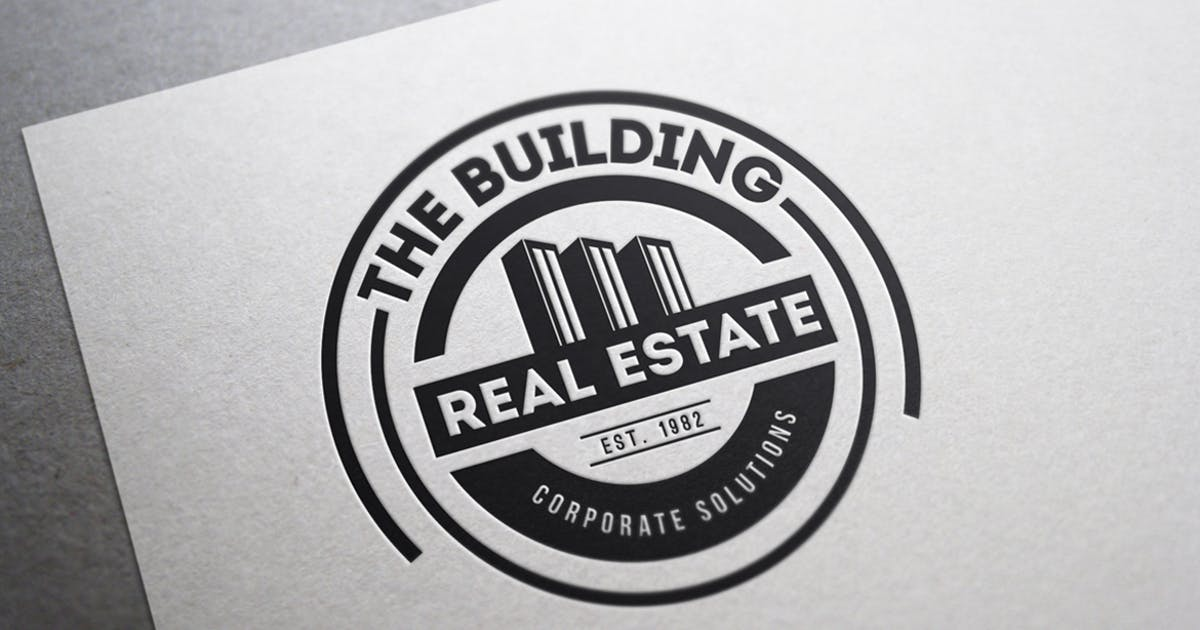 Download 12 Real Estate & Business Logos by designdistrictmx