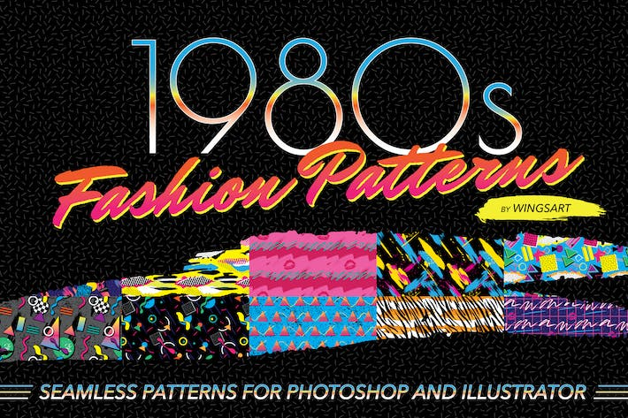 Thumbnail for 1980s Fashion Patterns Volume One