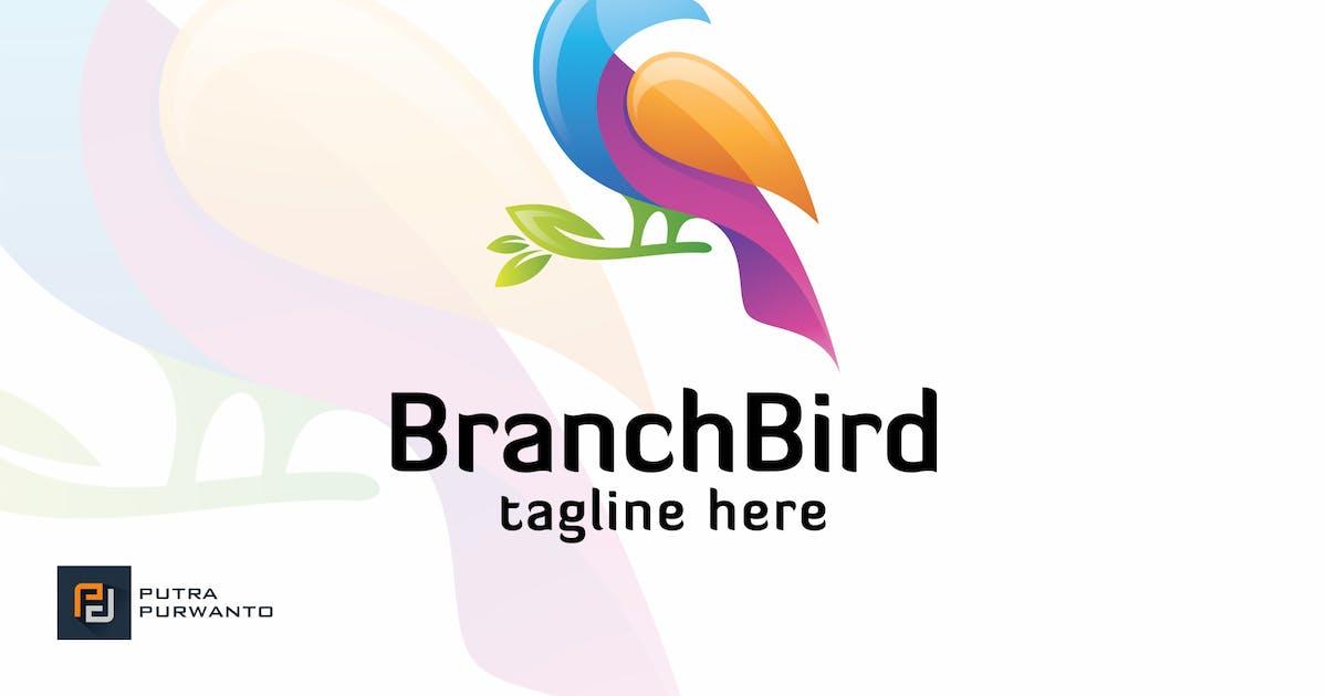 Download Branch Bird - Logo Template by putra_purwanto
