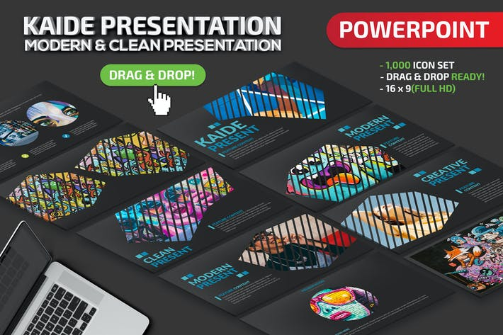 Thumbnail for Kaide Powerpoint Presentation Template