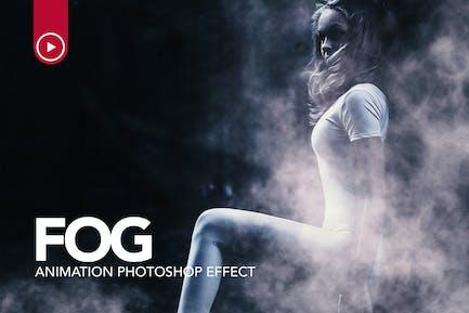 Fog Animation Photoshop Action