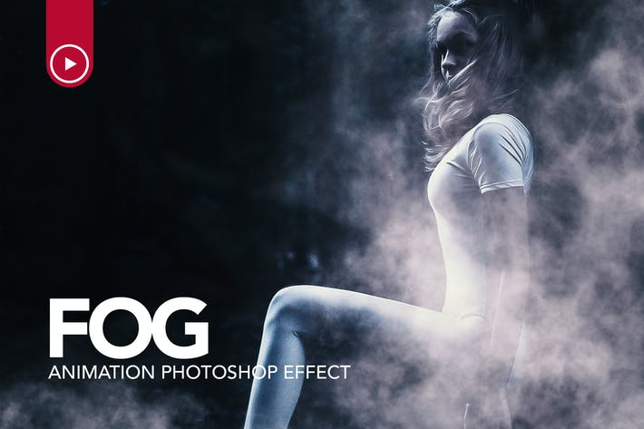Thumbnail for Fog Animation Photoshop Action