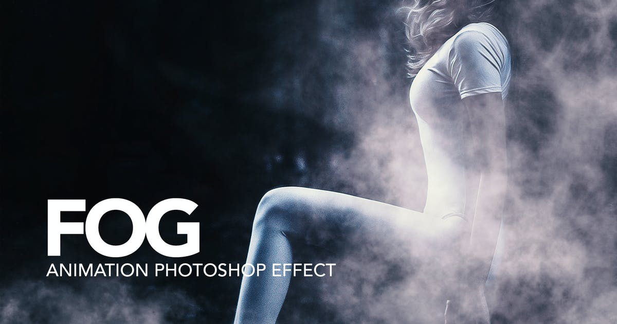 Download Fog Animation Photoshop Action by sreda