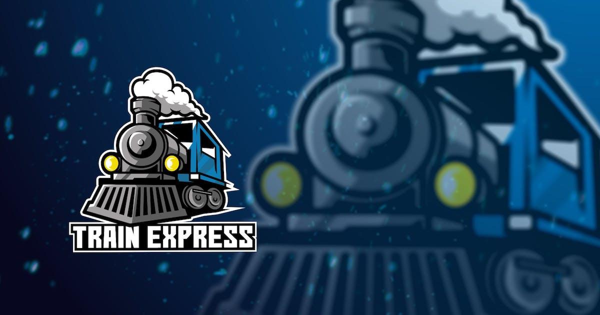 Download Train Express Mascot Logo by elevencreativee