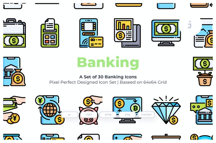 Thumbnail for 30 Banking Icons