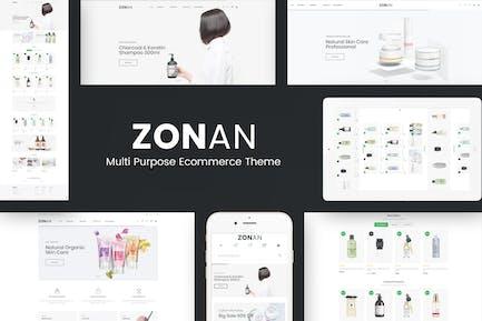 Zonan - Health & Beauty Prestashop Theme