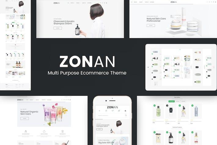 Thumbnail for Zonan - Santé & Beauté Thème Prestashop