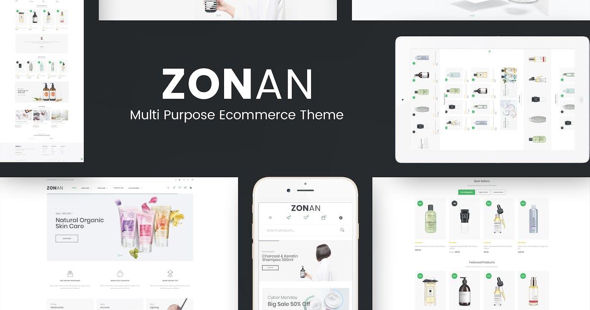 Download Zonan - Health & Beauty Prestashop Theme by posthemes
