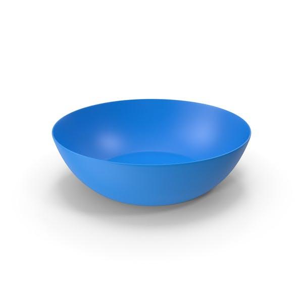 Plastic Bowl Blue