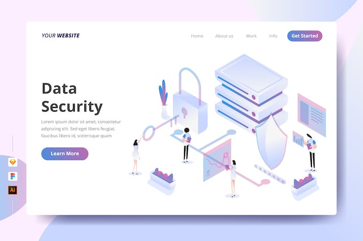 Thumbnail for Data Security - Landing Page
