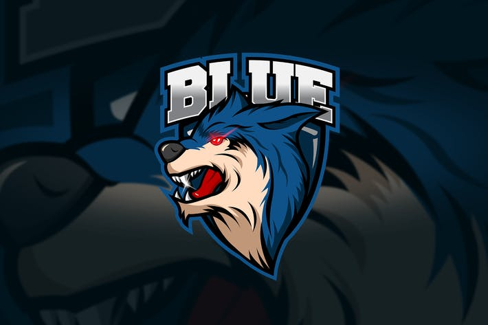 Thumbnail for Blue - Mascot & Esport Logo