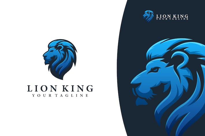 Thumbnail for LION KING LOGO TEMPLATE