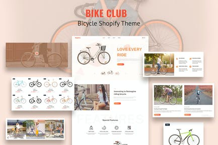 Bikez - Bike Shop, Cycle Single Shopify Theme