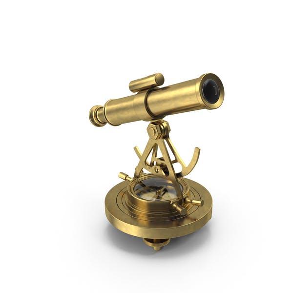 Alida-Kompass aus Messing
