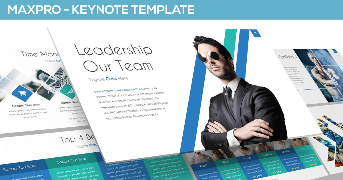 Download MAXPRO - KEYNOTE TEMPLATE by Unknow