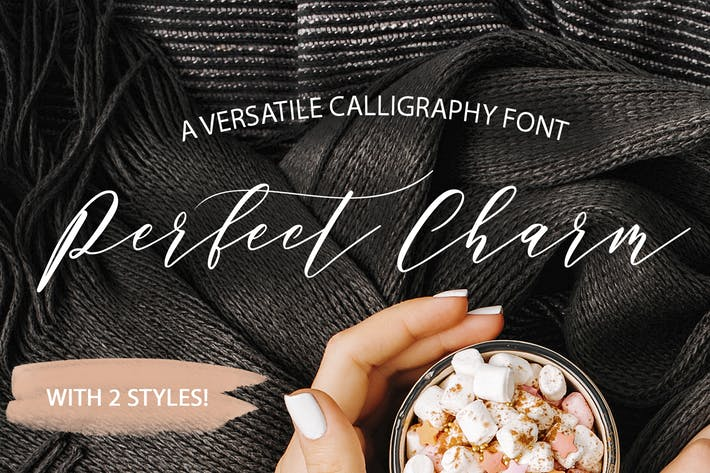 Cover Image For Perfect Charm - Elegant Font Script