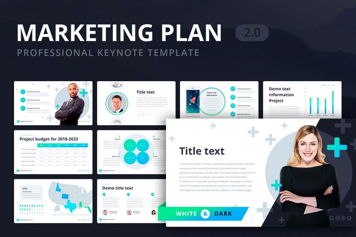 Thumbnail for Marketing Plan 2.0 for Keynote