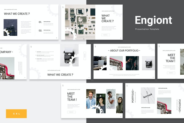 Thumbnail for Engiont - Engineering Google Slides Presentation