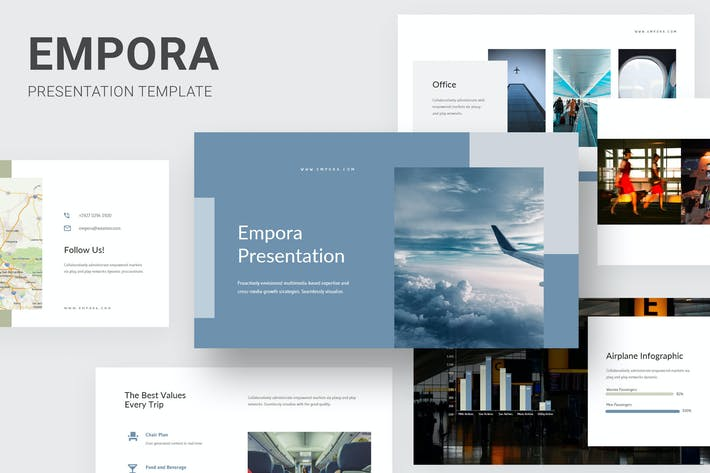 Cover Image For Empora - Aviation Business Keynote