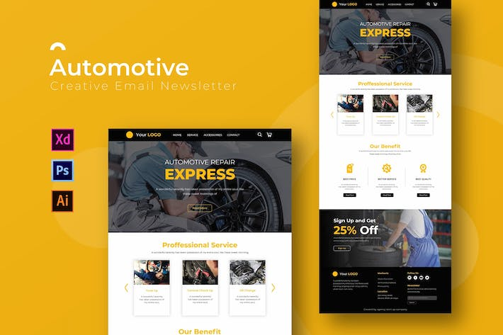 Automotive | Newsletter Template