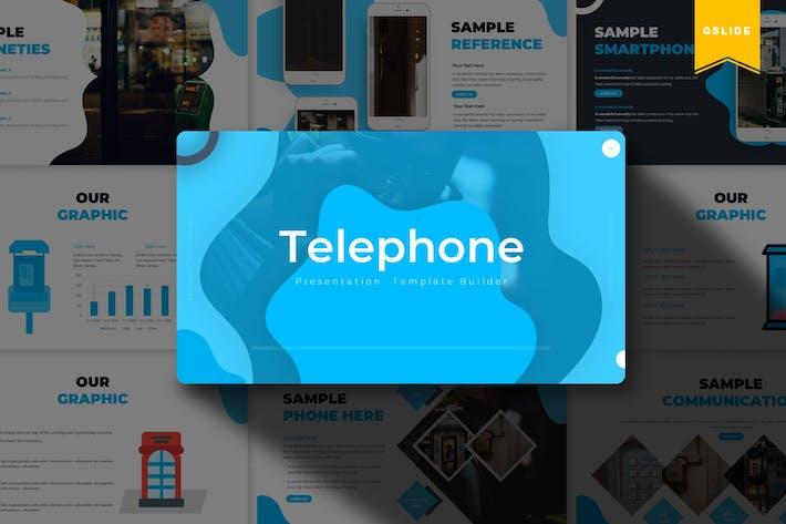 Thumbnail for Telephone | Google Slides Template