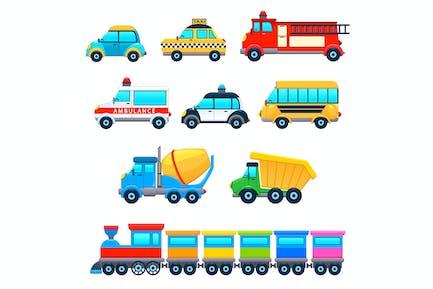 Lustige Fahrzeuge