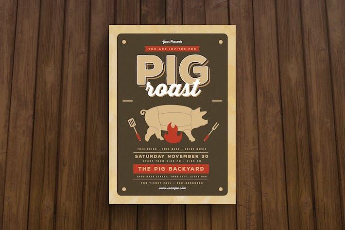 Thumbnail for Pig Roast Flyer