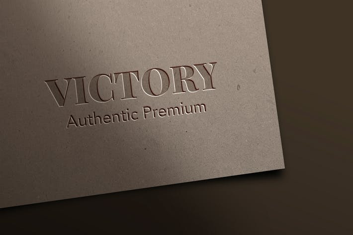 Thumbnail for YDM Embossed and Pressed Logo Mockup