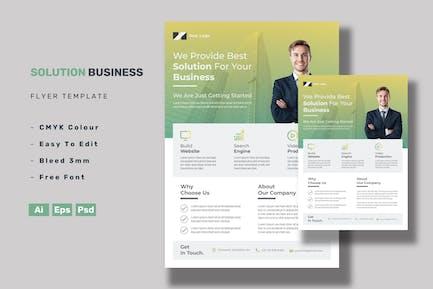 Бизнес-Флаер по решениям