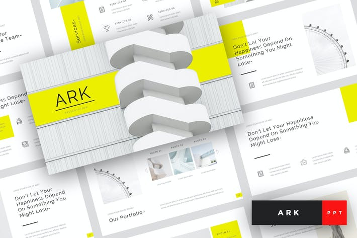 Thumbnail for Ark - Architecture PowerPoint Template