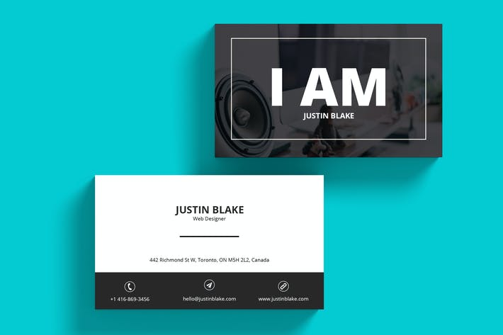 Thumbnail for Web Designer Business Card