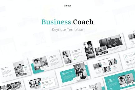 Business Coach Concept Keynote Presentation