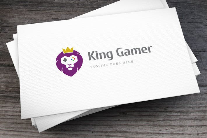 Thumbnail for Lion Gamer Logo Template