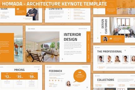 Homada - Architecture Keynote Template
