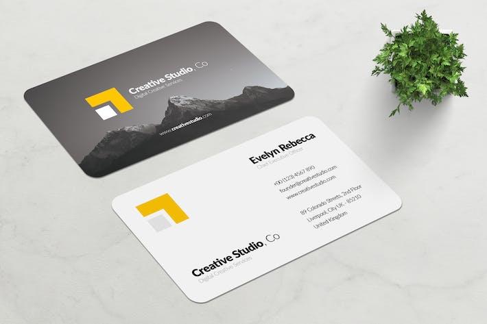 Thumbnail for Minimalist Business Card Vol. 01