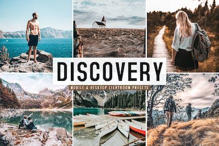 Discovery Mobile & Desktop Lightroom Presets