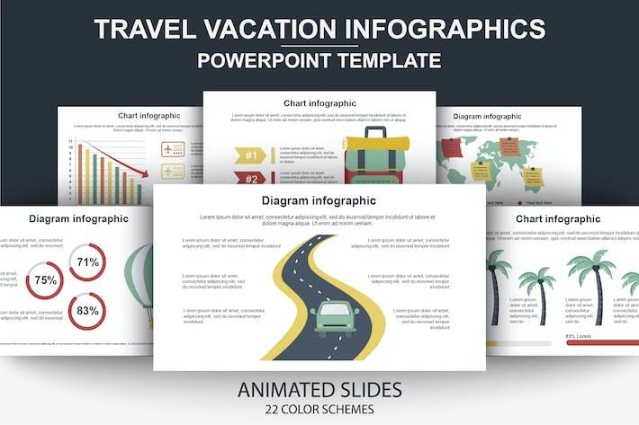 Thumbnail for Reise-Infografiken Powerpoint-anim