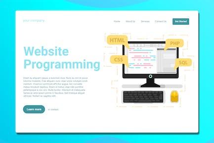Programming - Landing Page