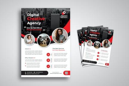 Creative Digital Agency Flyer