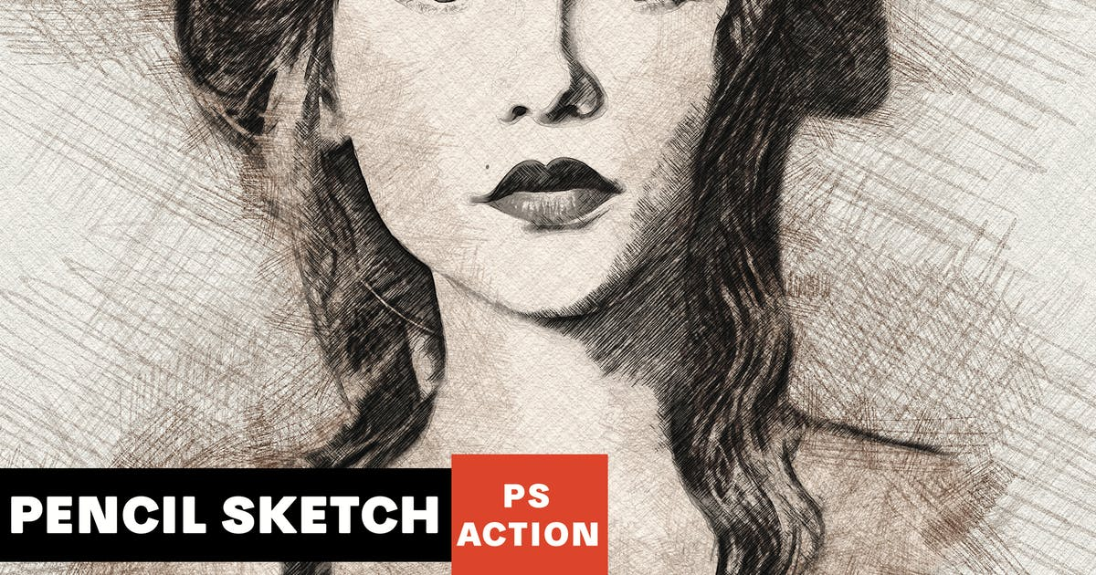 Download Pencil Sketch Photoshop Action by AB-Designer