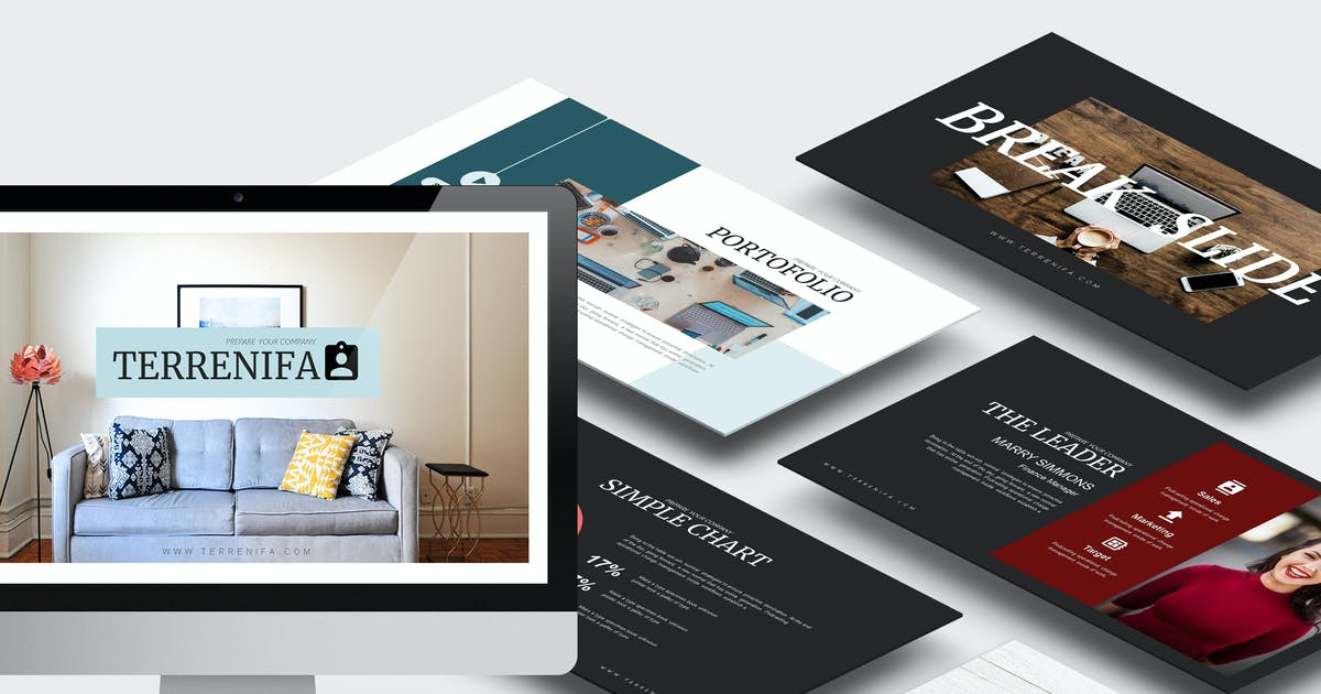 Download Terrenifa : Multipurpose Powerpoint Template by punkl