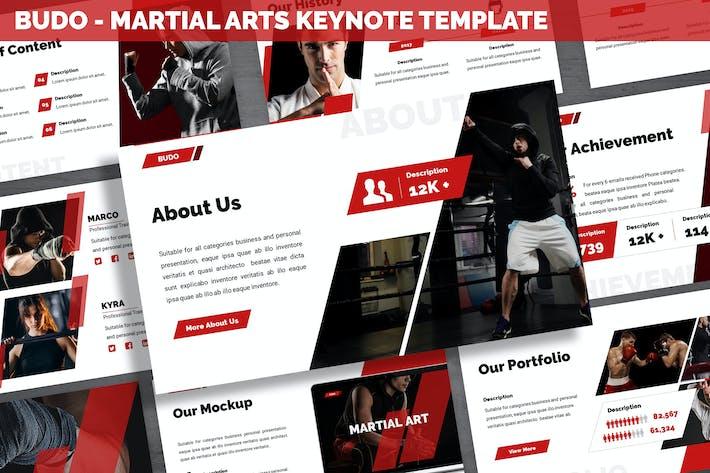 Thumbnail for Budo - Martial Arts Keynote Template
