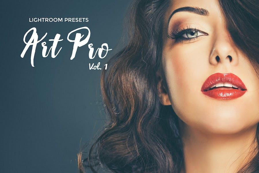 Art Pro Lightroom Presets Vol. 1