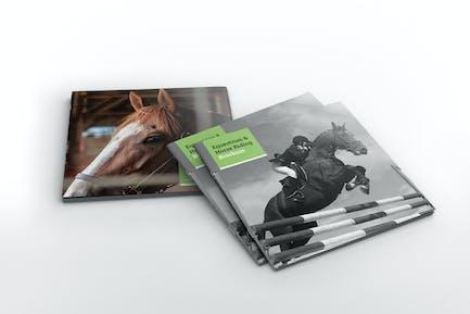 Equestrian & Horse Riding Square Brochure