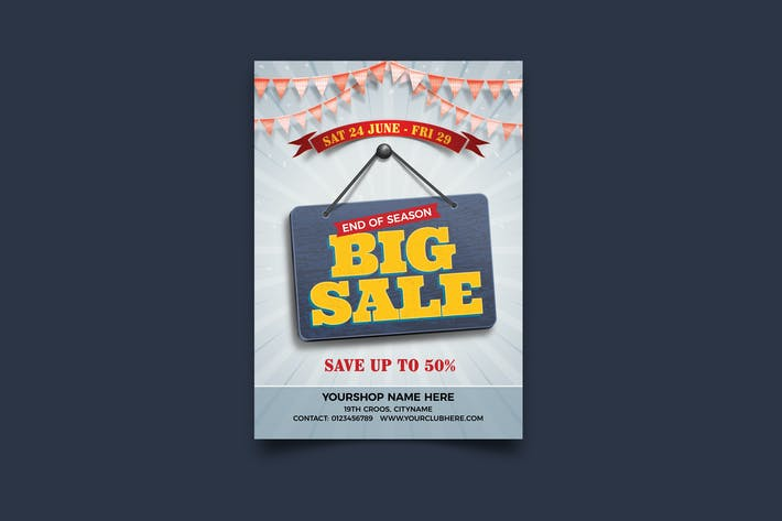 Season Big Sale Flyer