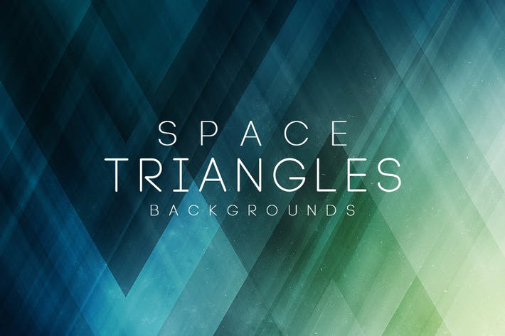 Thumbnail for Space Triangles Backgrounds